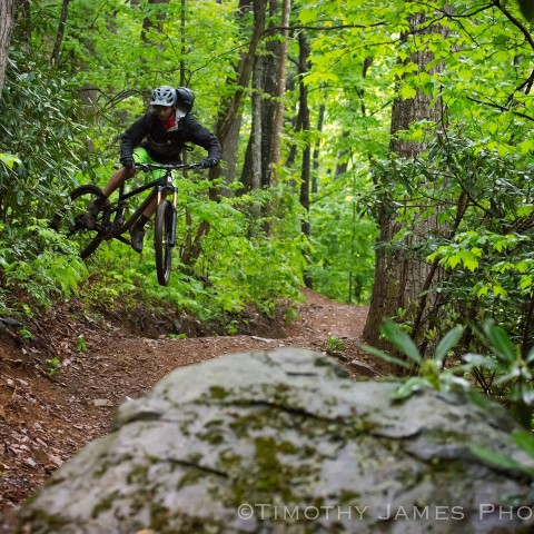 Rocky Knob Mountain Bike Park Pbj Trail Terra Tek Trails